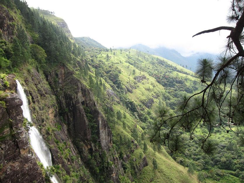 Bambarakanda Waterfalls Sri Lanka