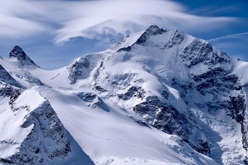 Gemsfreiheit Skiabfahrt - Engadin Diavolezza