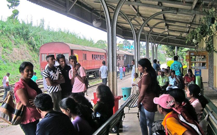 train station Haputale Sri Lanka