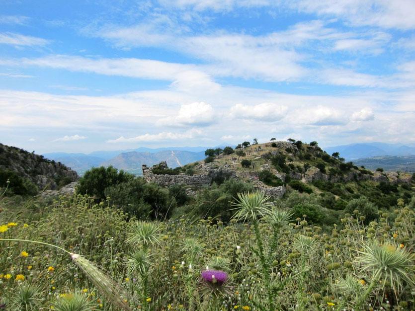 antike Stadt Mykene Peloponnese