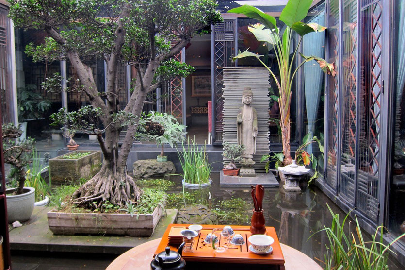 teahouse Kuanzhai Ancient Street chengdu