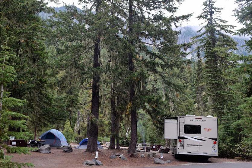White River Campground - Mount Rainier National Park