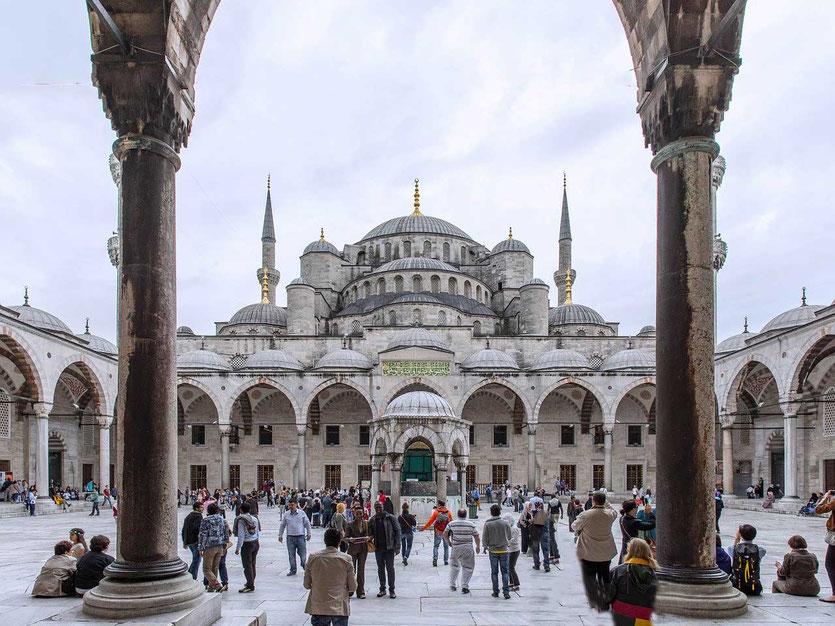 Die Hagia Sophia ist das  Wahrzeichen der Stadt Istanbul