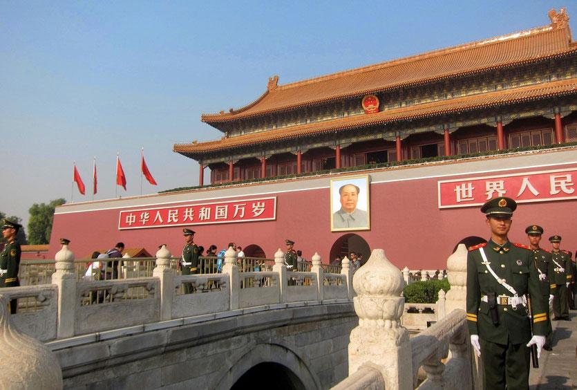 Tor des Himmlischen Friedens Peking