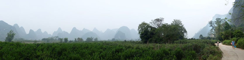 bike tour Yulong River Yangshuo