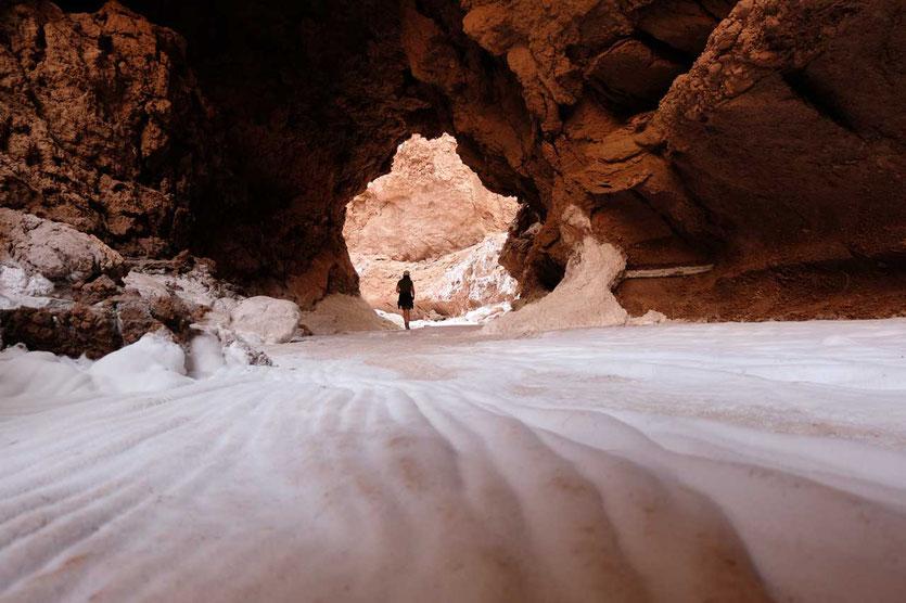 Wanderung Salz-Canyon Valle de la Luna San Pedro