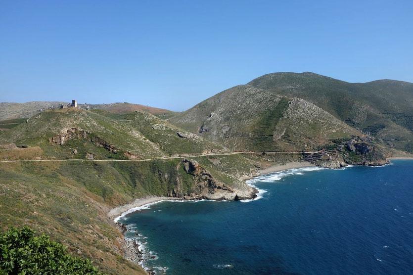 Die Bucht von Marmari Mani Peloponnese