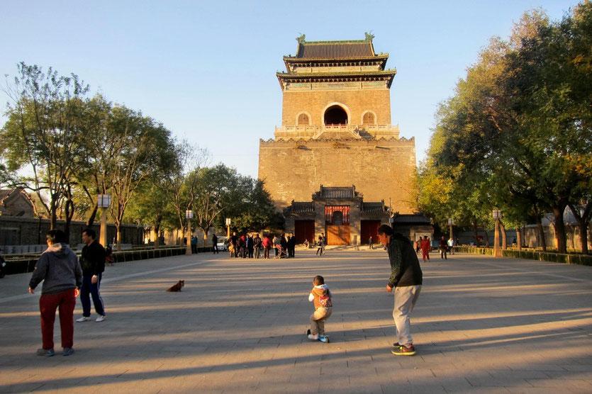 bell tower beijing, glockenturm peking