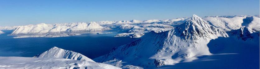 Storgalten Lyngen Alps Nord Lenangen Norway