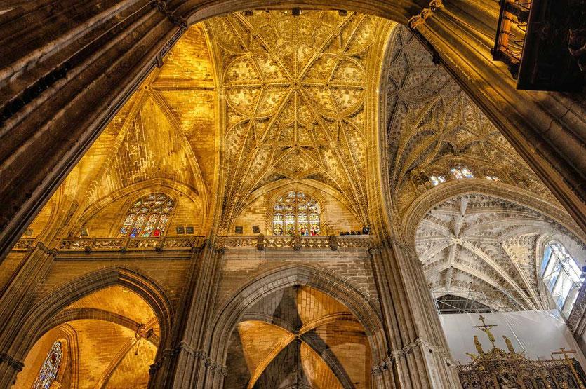 Kathedrale Sevilla Blick innen