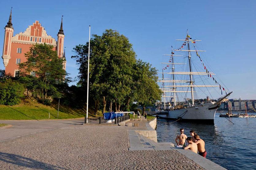 Stockholm Skeppsholmen af Chapman Schiff