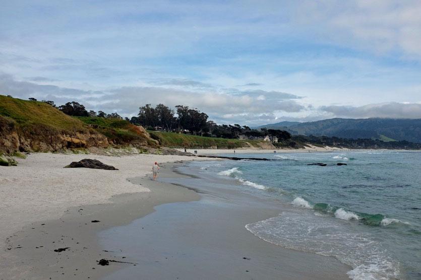 Carmel Beach Pebble Beach, California
