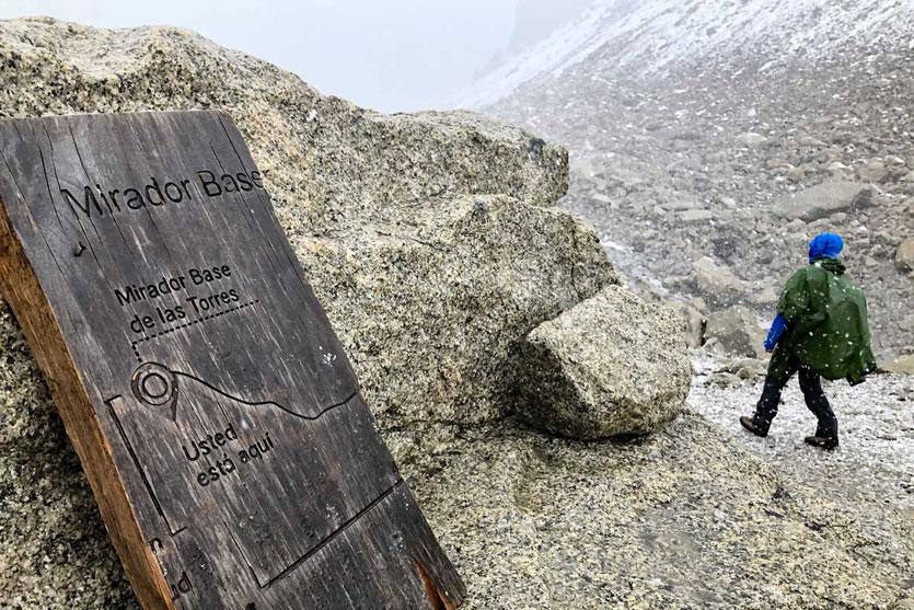 Mirador Base de las Torres Wanderung