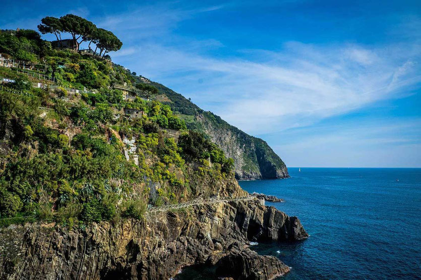 Küstenwanderweg Portovenere nach Riomaggiore Ligurien