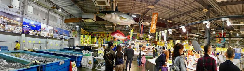 größter Tore-tore Seafood Market Shirahama Japan Reisebericht