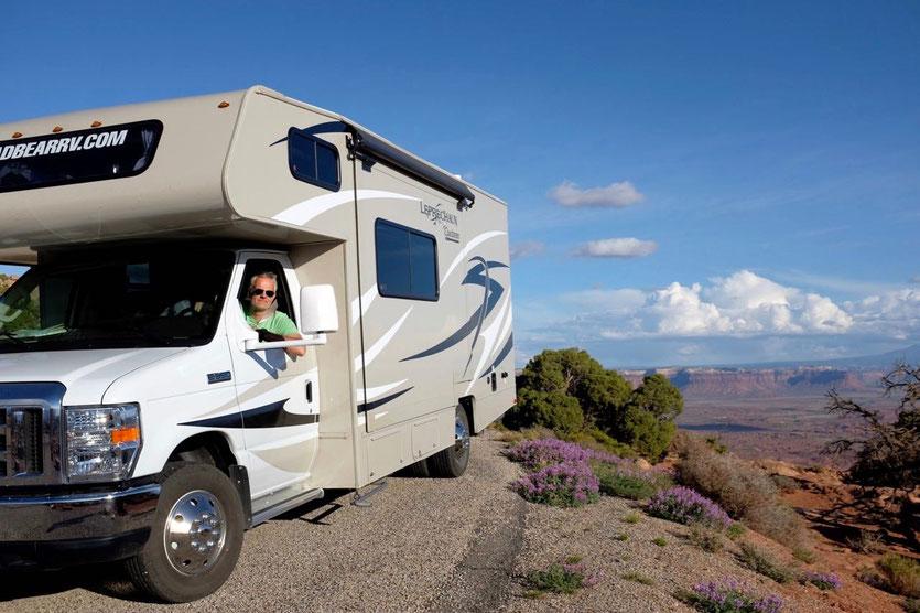 Road Bear Wohnmobil durch USA Westen