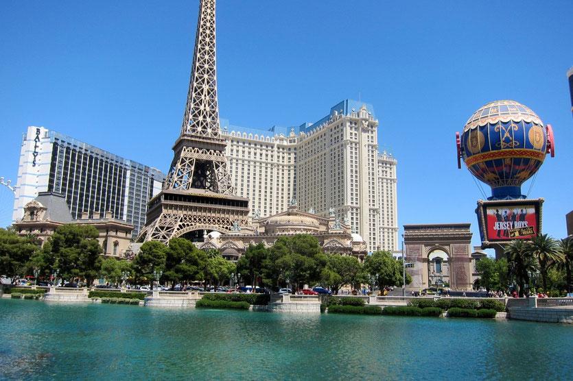 Eifelturm, Paris Hotel Las Vegas