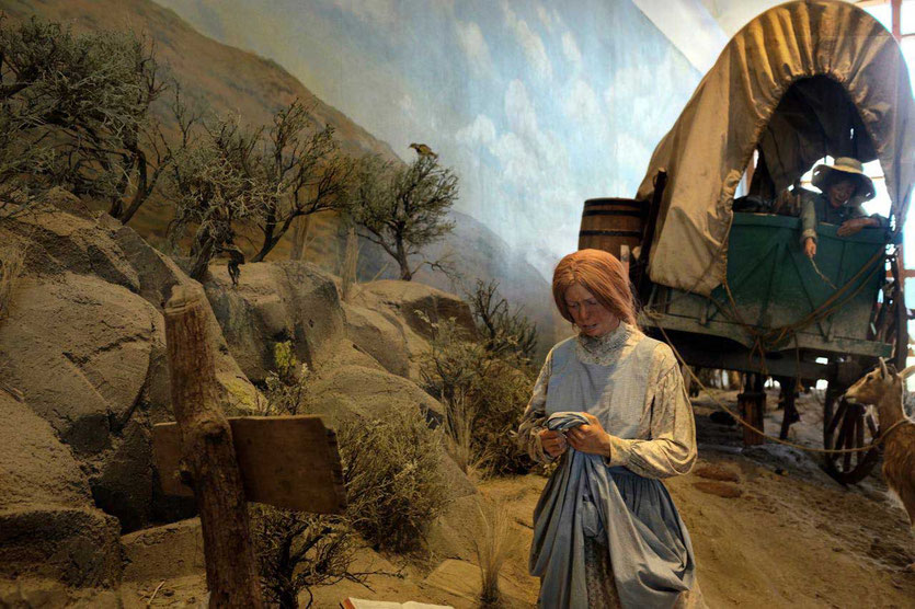 National Historic Oregon Trail Museum Interpretive Center Baker City