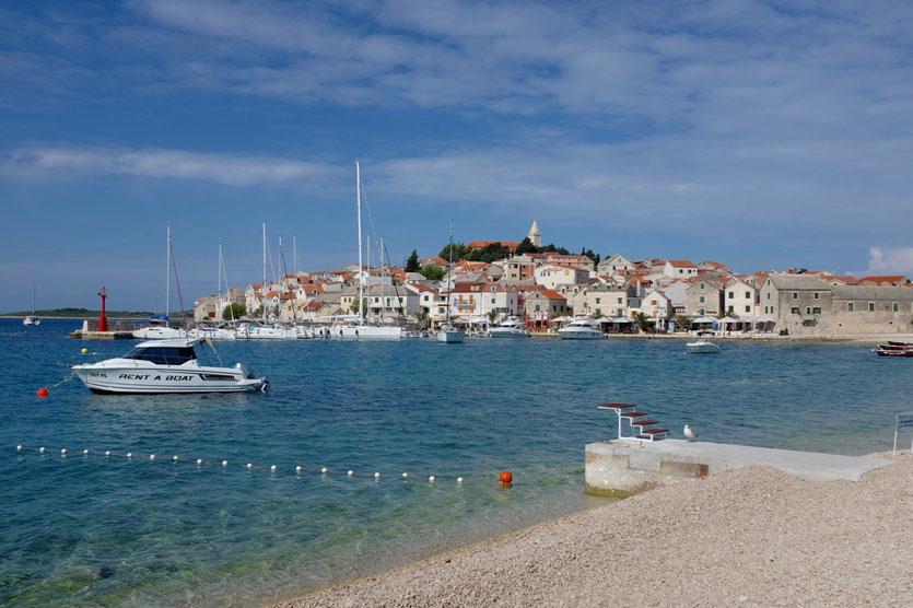vacation Primosten town croatia