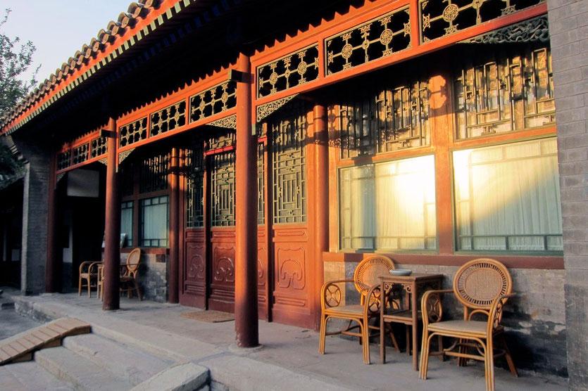 Courtyard 7 Hotel Beijing, Zimmer zum Innenhof