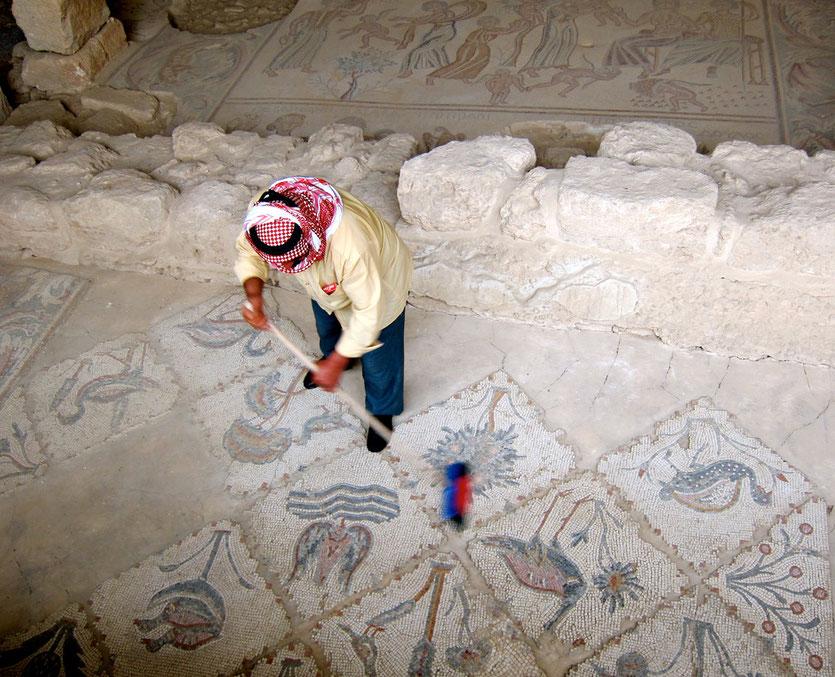 Hippolytus Halle, Madaba Mosaikstadt