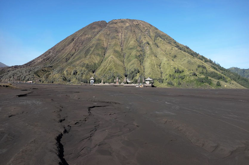 Mount Bromo Sea of sand Gunung Batok Java