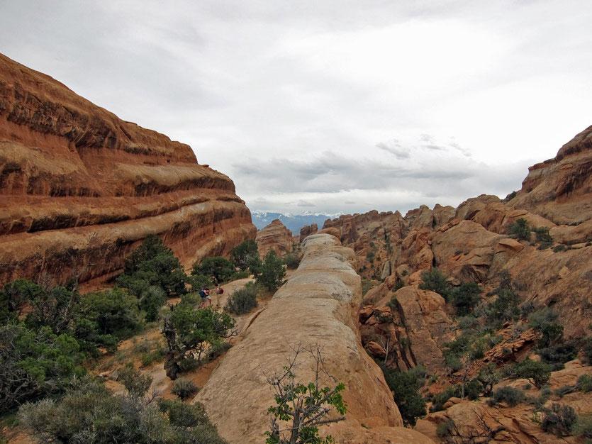 Wanderung Devils Garden Trail, Arches National Park USA Südwesten