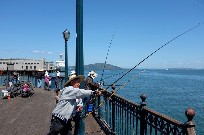 Fishing Pier San Francisco
