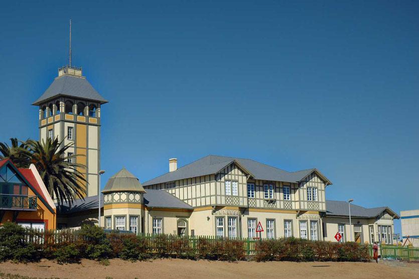 Woermann Haus mit Aussichtsturm Swakopmund