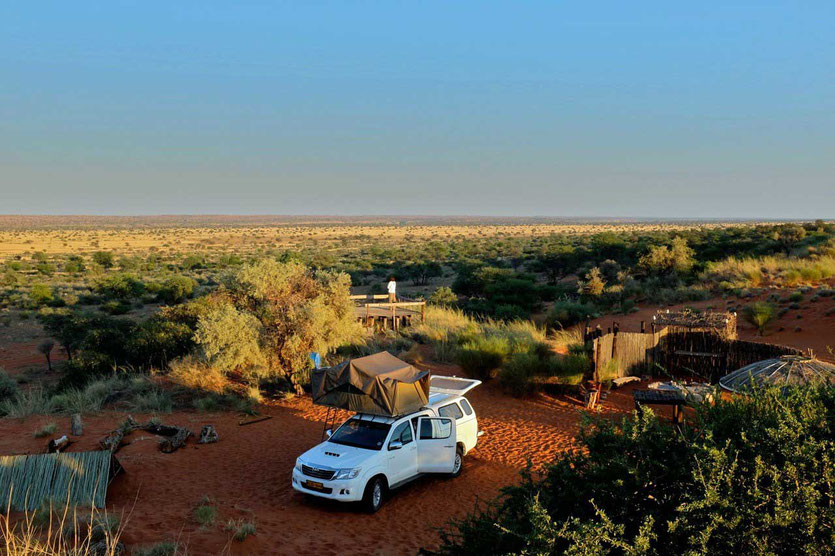 Red Dune Camp Kalahari, Namibia Camping