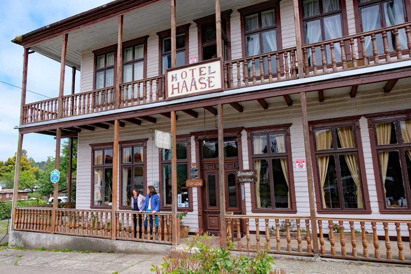 Nostalgie pur im Hotel Haase in Puerto Octay
