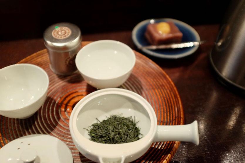 Ippodo Teegeschäft Teesalon Kyoto Store Best tea quality tea tasting Kyoto