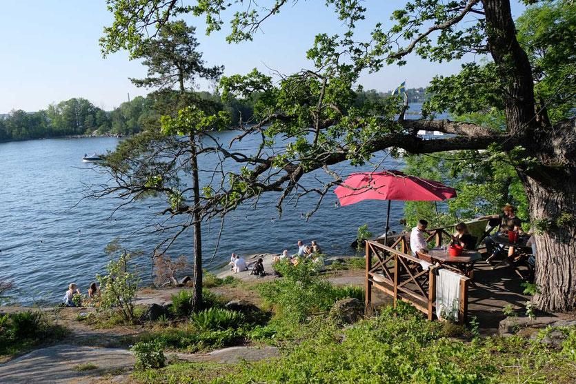 Stockholm Kurzausflug Schären – in 30 Minuten bis Fjäderholmen