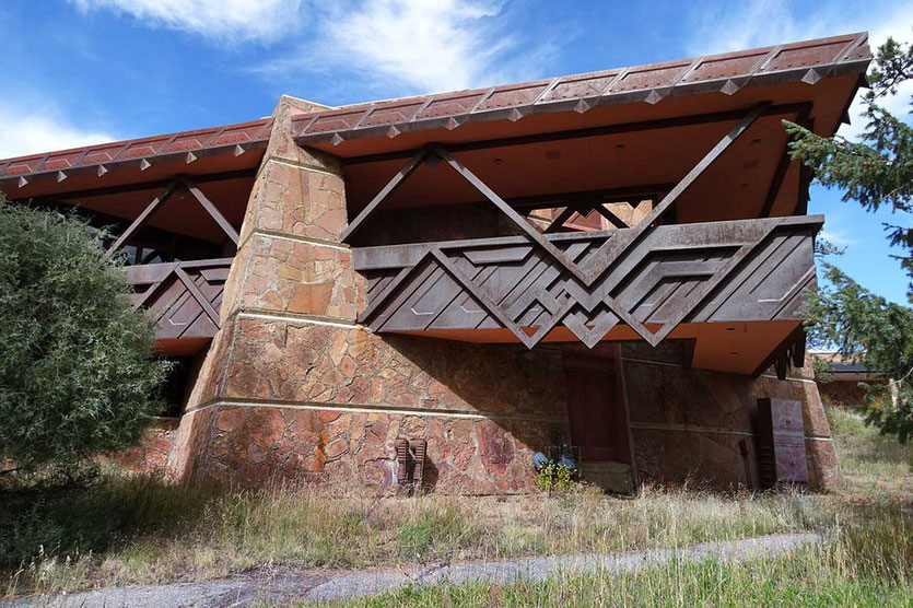Frank Lloyd Wright  Architektur Beaver Meadows Visitor Center