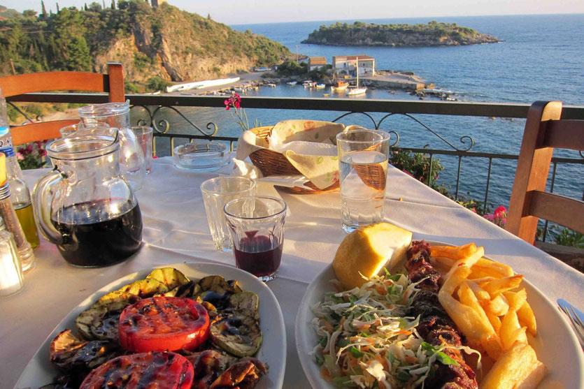 Restaurant Tipp Dioskouro in Kardamili, Mani Peloponnes