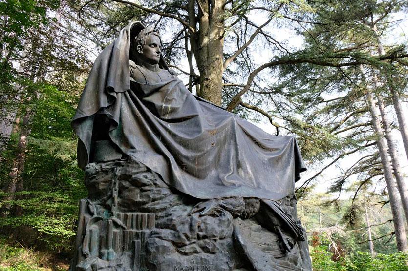 Napoleon Denkmal in Fixin Burgund