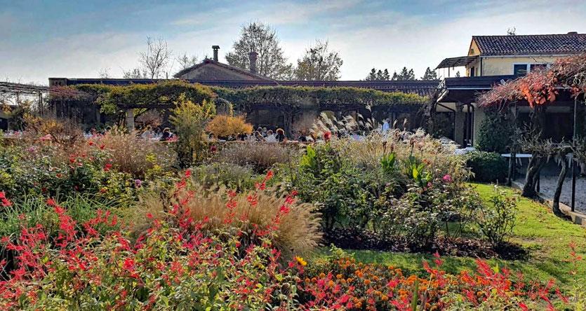 Garten Locanda Cipriani auf Torcello