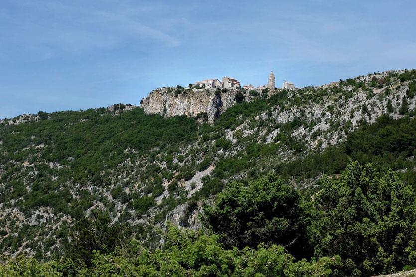 schönstes Bergdorf auf Cres Lubenice
