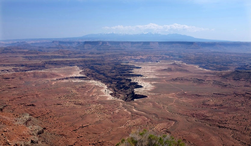 White Rim Overlook, Island in the Sky Canyonlands USA Südwesten National Parks
