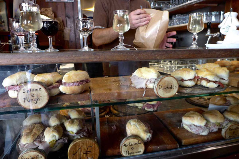 Bacareto da Lele Panini Wein Bar, Santa Croce Venedig