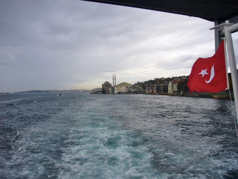 Istanbul Bosporusfahrt, boat tour