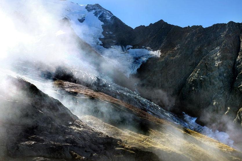 Mont-Blanc Tramway Nid d'Aigle trekking