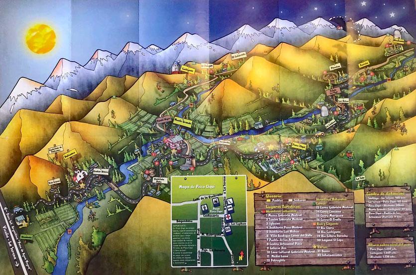 Valle del Elqui Map