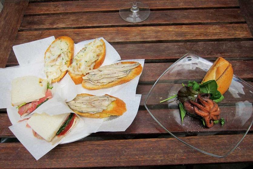 Ciccheti Teller AL'ARCO Slow Food Weinbar Venedig