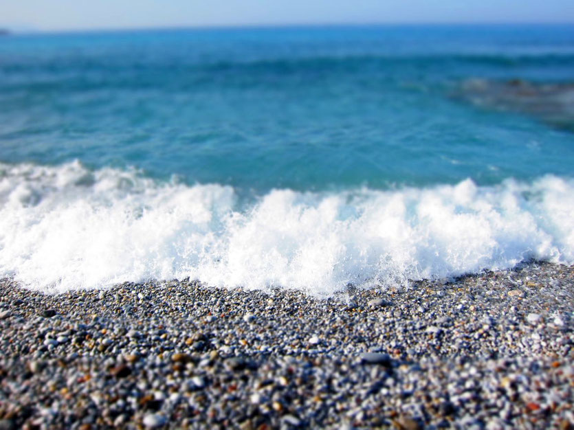 Strand Beach Kardamili Kardamiyli, Mani Peloponnes