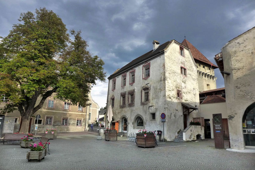Glurns schönste mittelalterliche Stadt Vinschgau Südtirol Stadtmauer