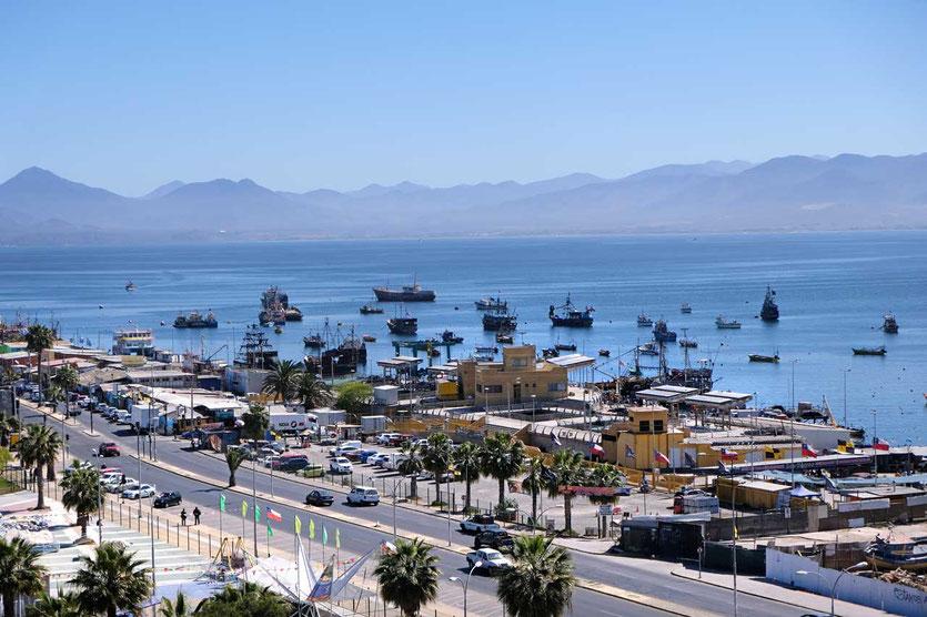 Fischmarkt und Hafen von Coquimba