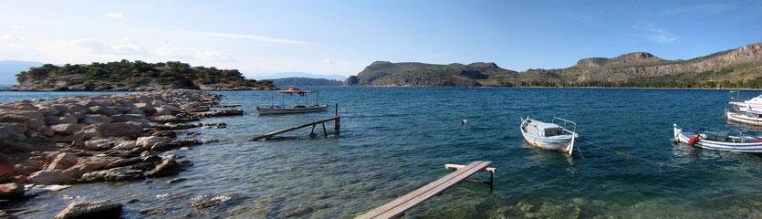 Karathona Bucht bei Nafplion, Peloponnes