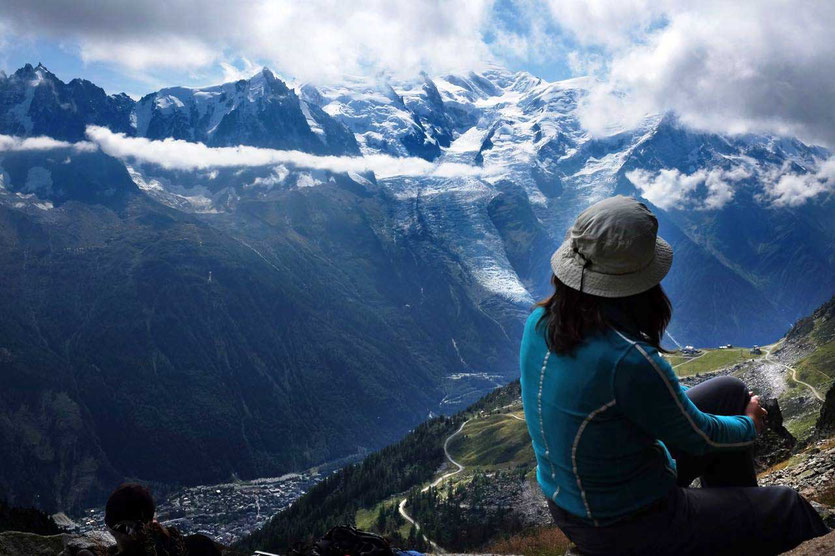 Mont Blanc Panorama Aiguilles Rouge Grand Balcon