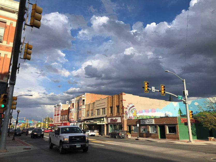 Stopover in Cheyenne main street